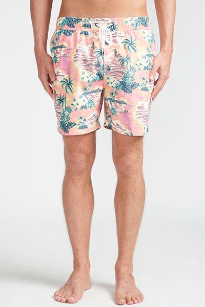 Пляжные шорты N1LB17-BIP9 Neo Red
