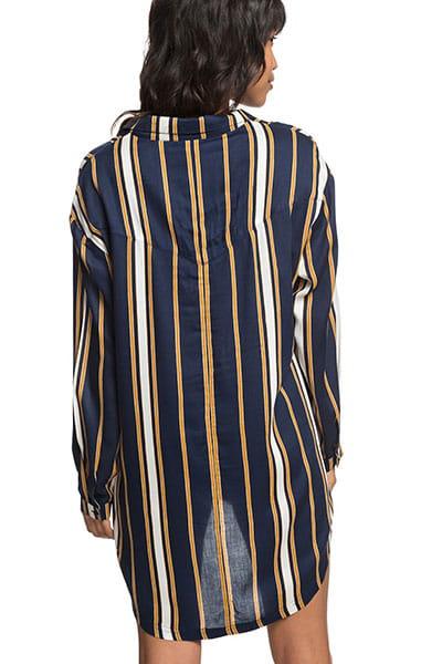 Жен./Одежда/Платья/Платья Женское платье-рубашка с длинным рукавом Lonely For You