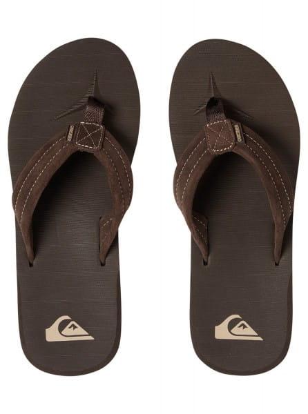 Муж./Обувь/Сланцы/Сланцы Мужские кожаные сланцы Carver Suede