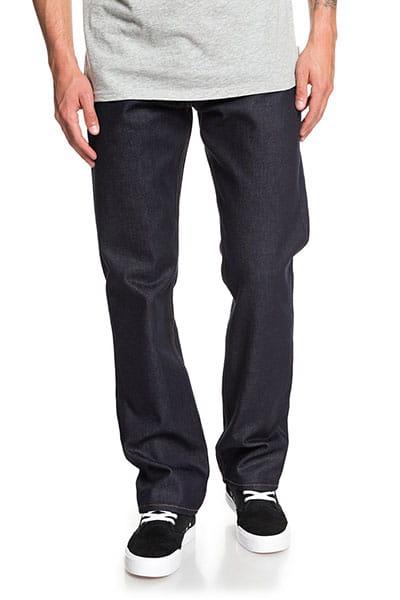 Зеленые мужские прямые джинсы sequel rinse