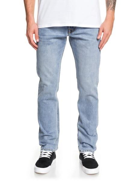 Зеленые мужские прямые джинсы revolver salt water