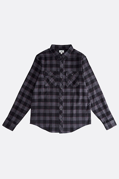 Рубашка в клетку Q1SH03-BIF9 Black