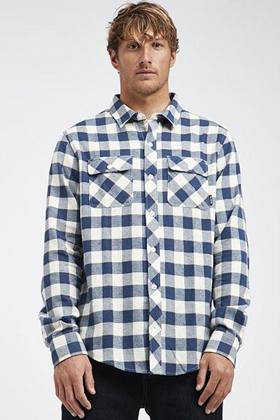 Рубашка в клетку Q1SH03-BIF9 Birch