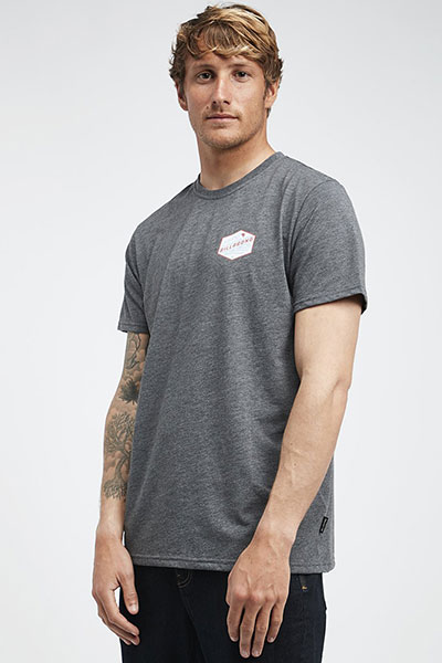 Футболка Q1SS18-BIF9 Dark Grey Heather