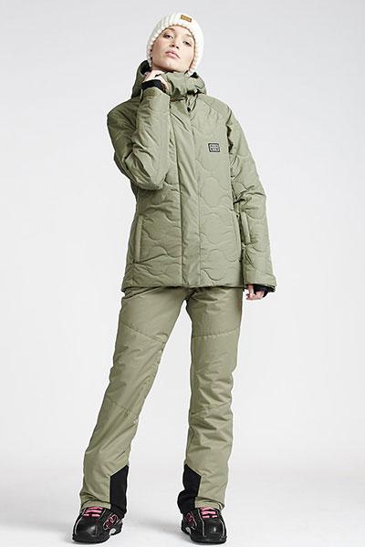 Штаны сноубордические Q6PF07-BIF9 Olive