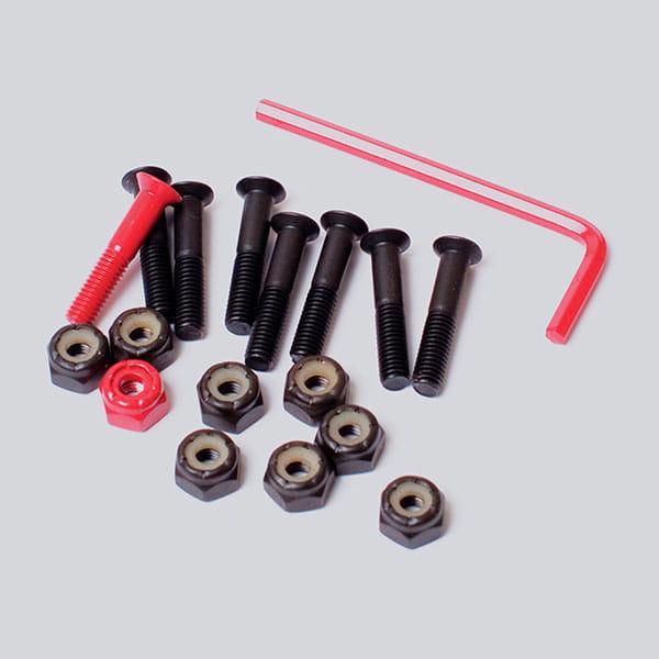Серые винты для скейтборда element allen hdwr 1 inch