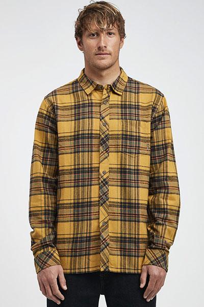 Рубашка в клетку Q1SH04-BIF9 Gold