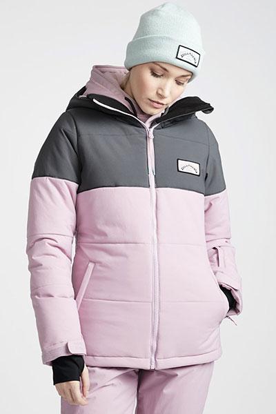 Куртка сноубордическая Q6JF02-BIF9 Mauve