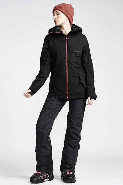 Штаны сноубордические Q6PF02-BIF9 Black