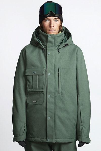 Куртка утепленная Q6JM07-BIF9 Forest