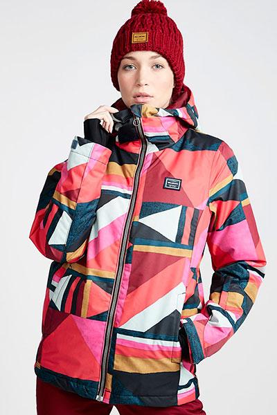 Куртка сноубордическая Q6JF01-BIF9 Sunset Red