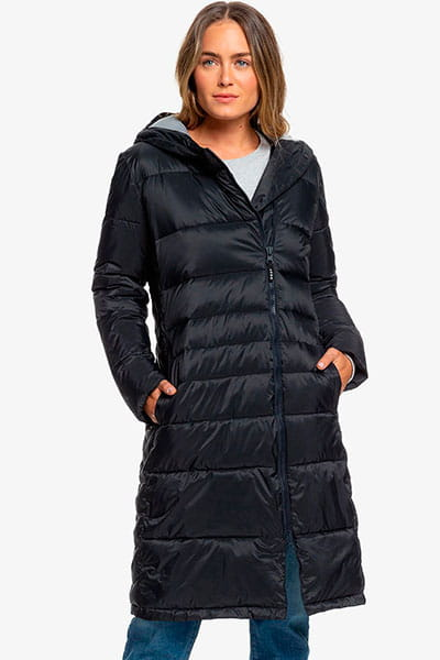 Черный женская куртка everglade