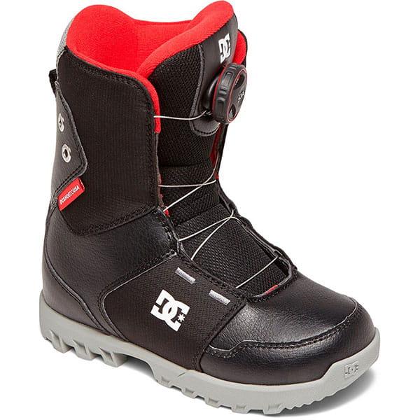 Черные детские сноубордические ботинки boa® youth scout