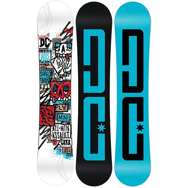 Голубой детский сноуборд ply mini