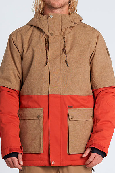 Куртка сноубордическая Q6JM04-BIF9 Heather