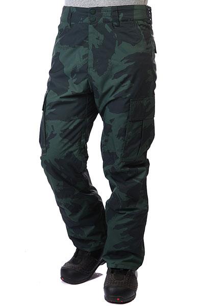 Штаны сноубордические Q6PM10-BIF9 Camo