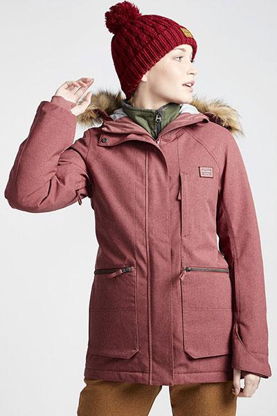 Куртка утепленная Q6JF08-BIF9 Forest Vintage Plum