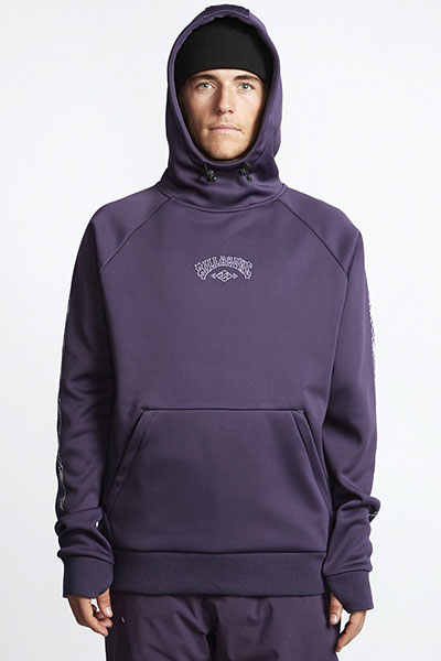 Толстовка кенгуру Q6SM02-BIF9 Dark Purple