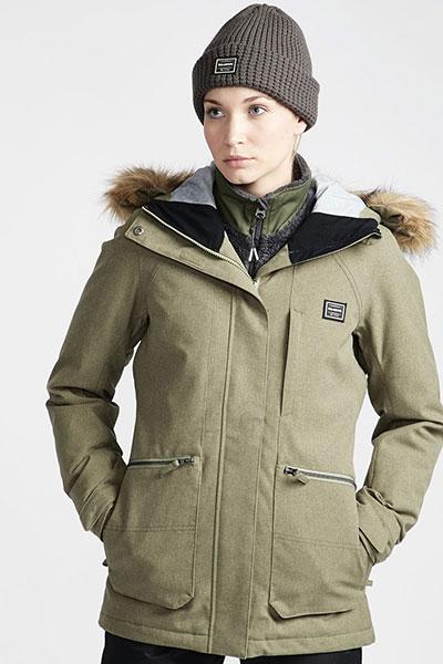 Куртка сноубордическая Q6JF08-BIF9 Forest Olive