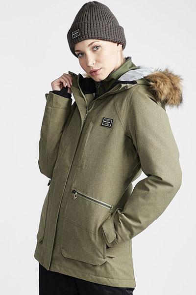 Жен./Одежда/Верхняя одежда/Куртки для сноуборда Женская сноубордическая куртка Into The Forest