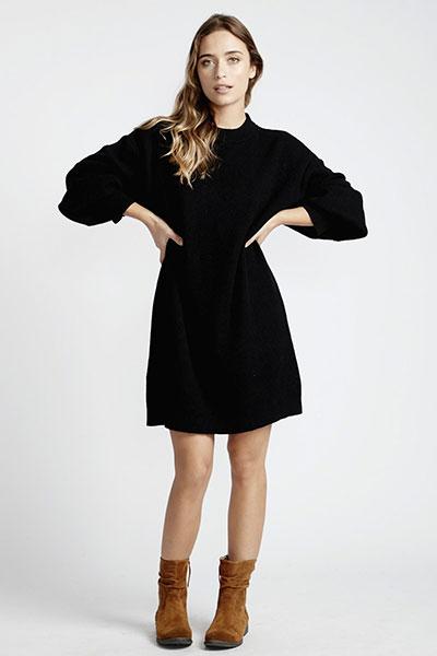 Платье Q3DR02-BIF9 Black
