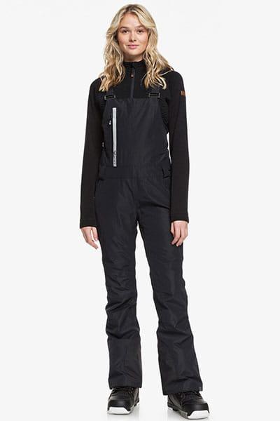 Розовый женские сноубордические штаны с подтяжками prism 2l gore-tex®