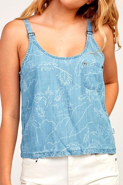 Жен./Одежда/Майки и топы/Блузы Топ RVCA Collector