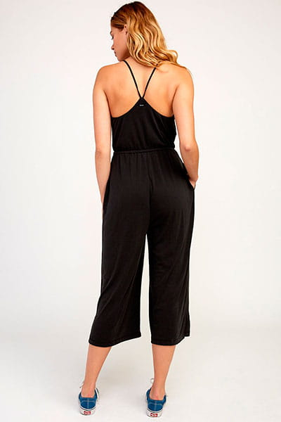 Жен./Одежда/Платья и комбинезоны/Комбинезоны Комбинезон женский Rvca Jarvis Jumper Black