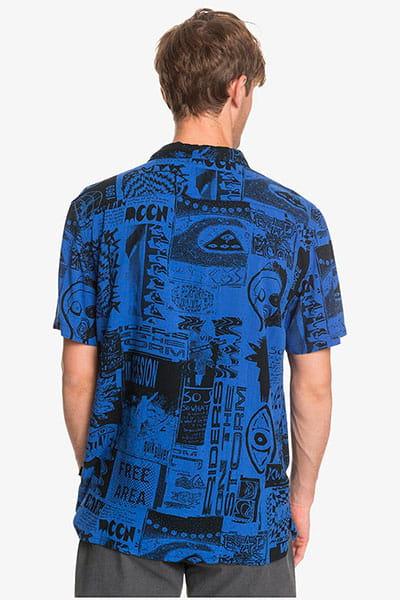 Муж./Одежда/Рубашки/Рубашки с коротким рукавом Мужская рубашка с коротким рукавом Fluid Geo