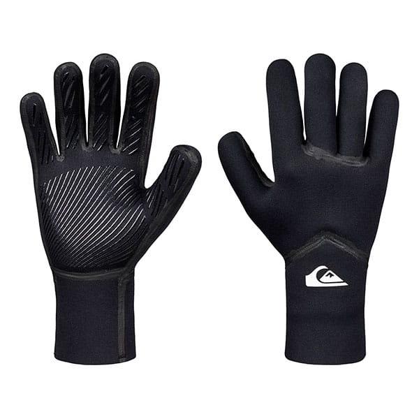 Черные неопреновые перчатки 3mm syncro plus