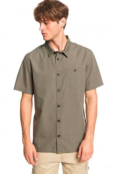 Мультиколор мужская рубашка с коротким рукавом taxer