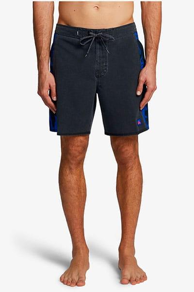 """Зеленый мужские пляжные шорты vortex 18"""""""