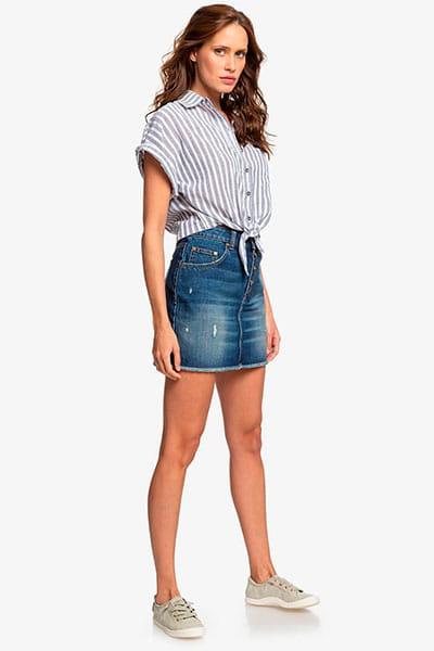 Жен./Одежда/Блузы и рубашки/Рубашки с коротким рукавом Женская рубашка с коротким рукавом Full Time Dream