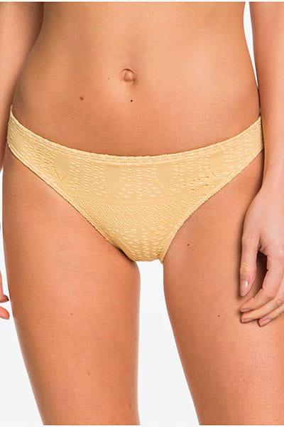 Желтые женские плавки roxy sweet wildness