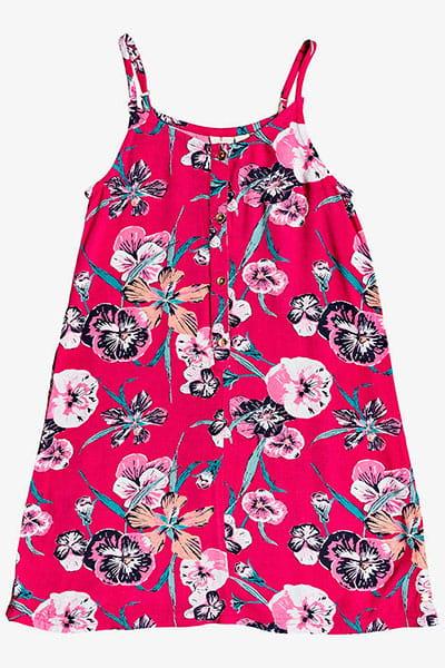 Оранжевый детское платье exotic night 4-16