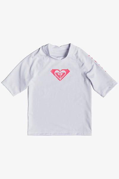 Детский рашгард с коротким рукавом Whole Hearted UPF 50 2-7