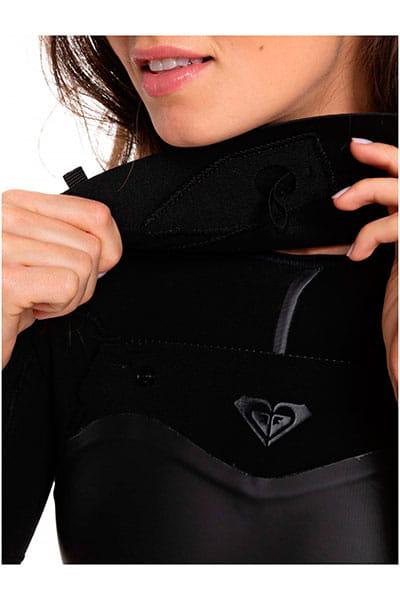 Жен./Одежда/Гидрокостюмы/Гидрокостюмы Женский гидрокостюм с коротким рукавом и молнией на груди Roxy 2/2mm Satin