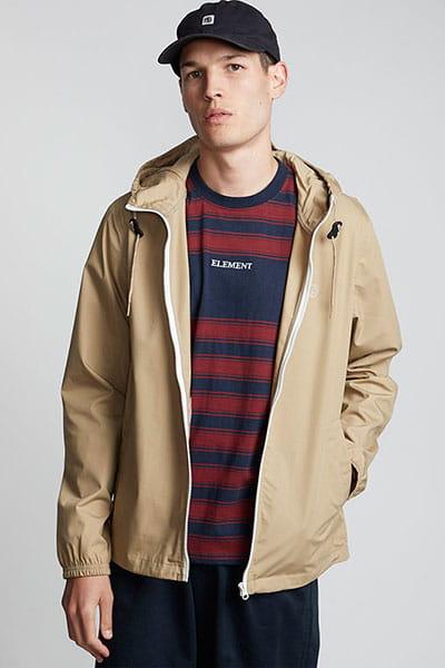 Оранжевый мужская куртка alder light