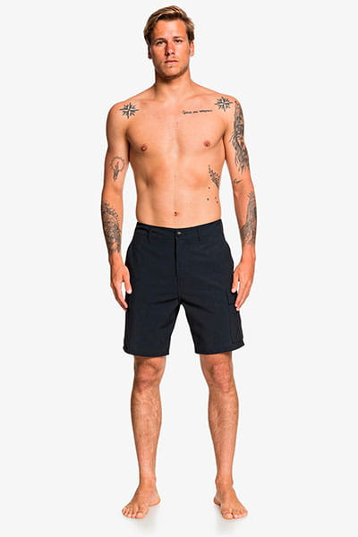 "Муж./Бордшорты/Пляжные шорты/Пляжные шорты Мужские бордшорты Amphibian Rogue 19"""