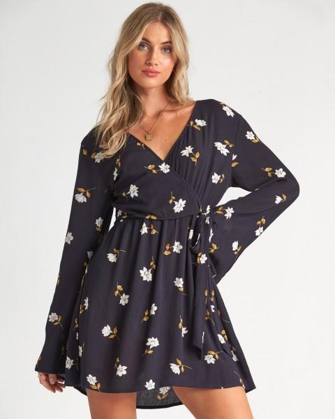 Жен./Одежда/Платья и комбинезоны/Платья Платье-мини с цветочным принтом Side Out