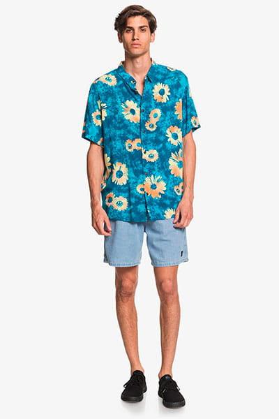 Муж./Одежда/Рубашки/Рубашки с коротким рукавом Мужская рубашка с коротким рукавом Daisy Spray