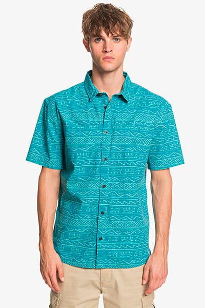 Мультиколор мужская рубашка с коротким рукавом heritage