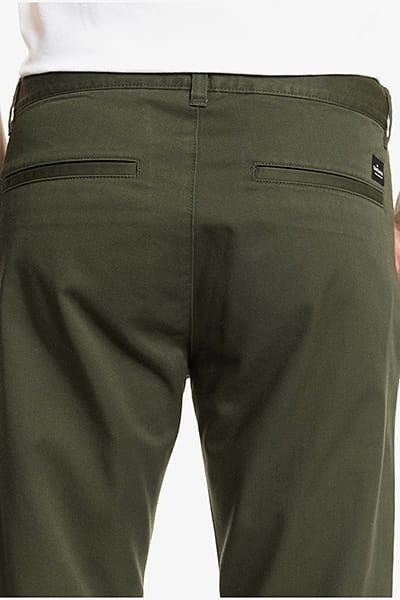 Муж./Одежда/Джинсы и брюки/Зауженные брюки Мужские укороченные брюки Disaray
