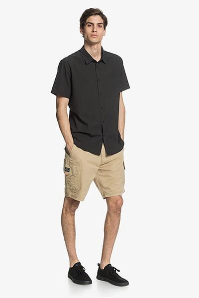 Муж./Одежда/Рубашки/Рубашки с коротким рукавом Мужская рубашка с коротким рукавом Waterman Tech Tides UPF 30