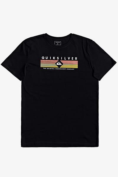 Черный мужская футболка distant fortune