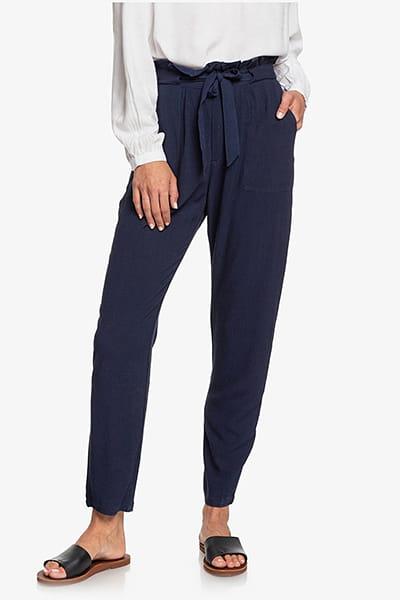 Жен./Одежда/Штаны/Брюки повседневные Женские брюки с высокой талией Flowered Swing
