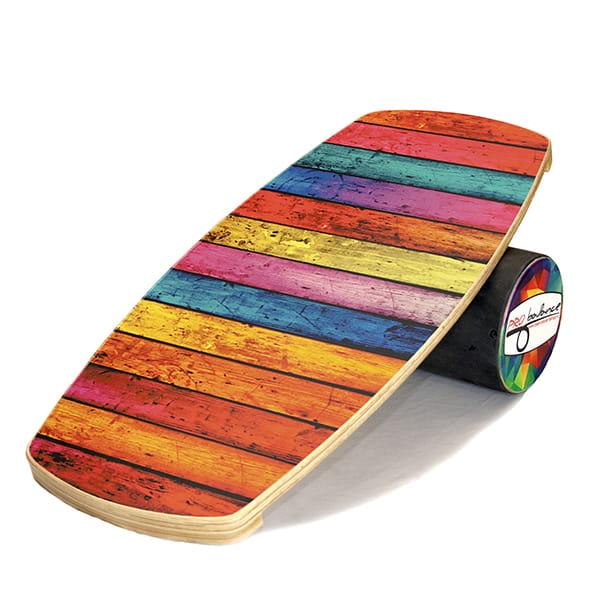 Бордовый балансборд color wood