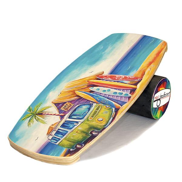 Бордовый балансборд surf vagon