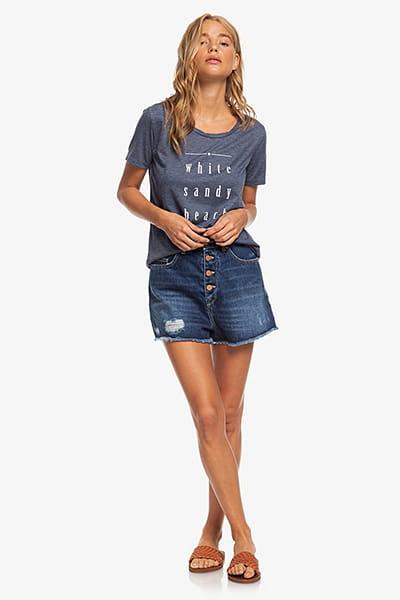 Жен./Одежда/Футболки, поло и лонгсливы/Футболки Женская футболка Roxy Chasing The Swell