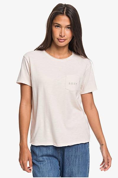 Жен./Одежда/Футболки, поло и лонгсливы/Футболки Женская футболка с карманом Roxy Star Solar
